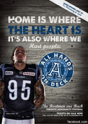 Argonauts pull ad campaign—was it the right move?