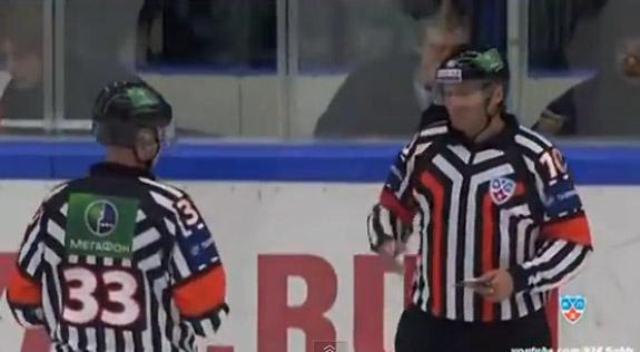 Fight Video: Another line brawl for KHL goons Vityaz Chekhov