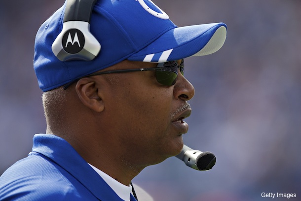 Based on Jim Irsay's words, Caldwell shouldn't get too comfortable