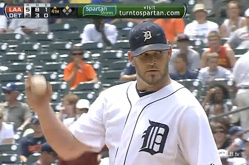 Tigers teammates Penny and Martinez argue with each other