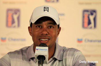 At pre-Chevron presser, Tiger Woods says what you'd expect