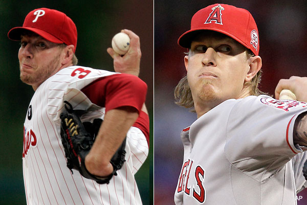 Your All-Star starters: Roy Halladay and Jered Weaver