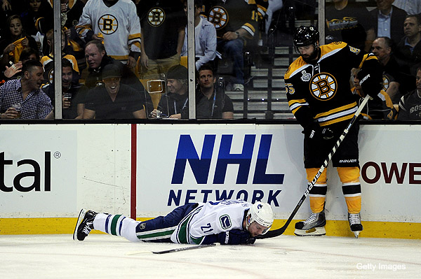 Canucks GM critical of Boychuk, talks 'dangerous' Raymond injury