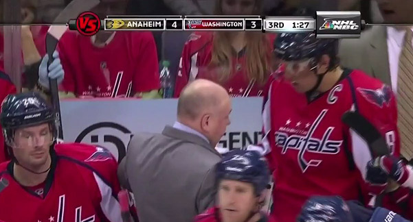 On benched Alex Ovechkin's cussing rift with Bruce Boudreau's gut