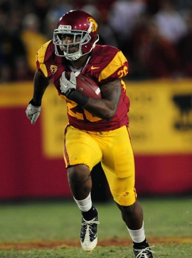 USC mulls 'possible' punishment for top rusher Marc Tyler