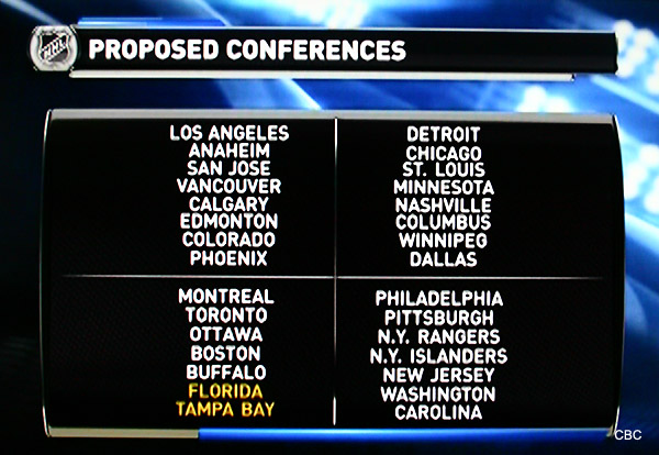 More pros than cons to be found in latest NHL realignment plan