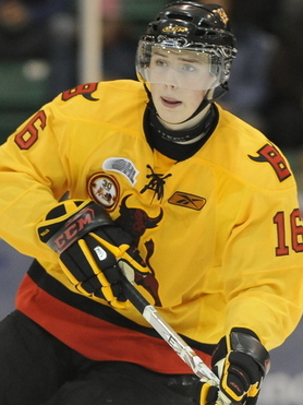 Draft tracker: 5 questions with Brendan Gaunce, Belleville Bulls