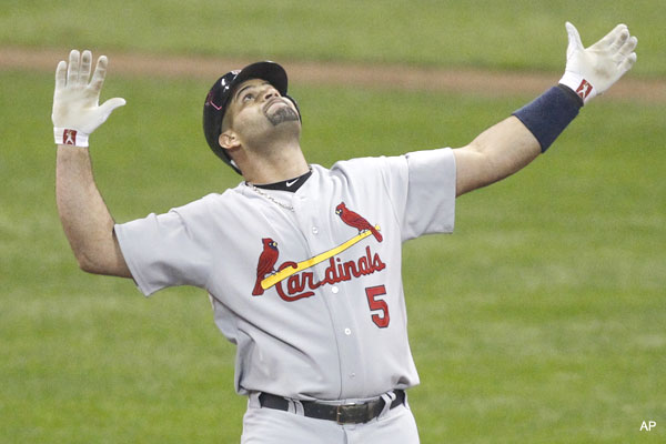 See ya, St. Louis: Albert Pujols signs mega contract with Angels