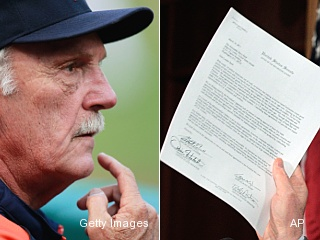 Jim Leyland gives surprising reply to angry mail from Tigers fan