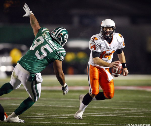 Travis Lulay's extension will keep him with the B.C. Lions…through the 2013 season