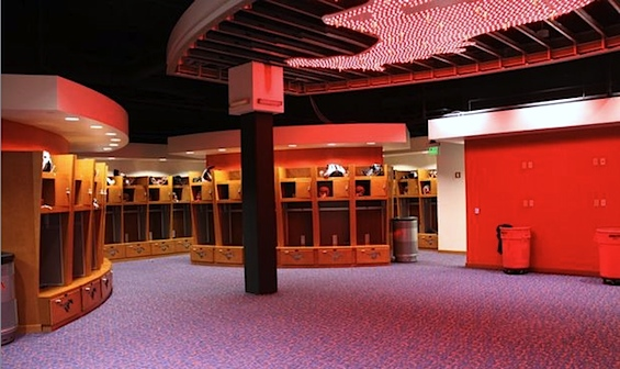 Sorry, but SMU's new locker room only looks like a strip club