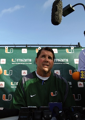 Al Golden won't talk about leaving my Miami, but the NCAA may not leave him any choice