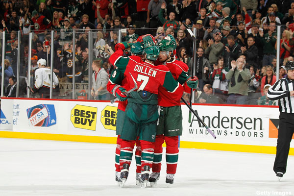 Hockey Hugs: Dion loves Phil, happy Blues and holy Getzlaf