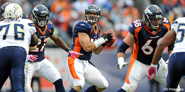 It's official: Tim Tebow named Broncos' starter vs. Miami