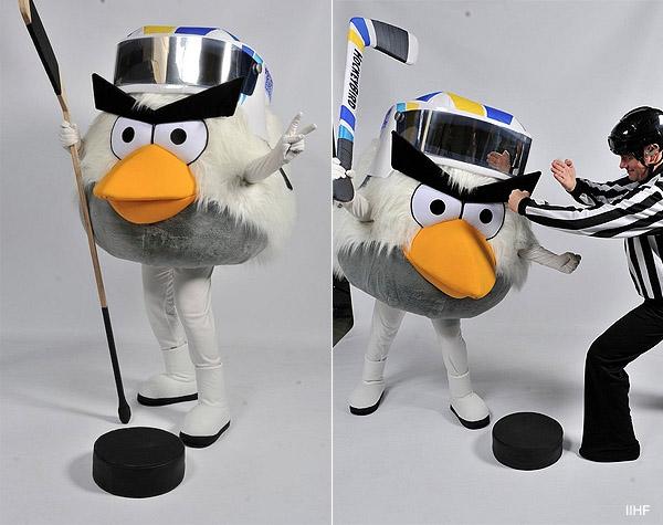 Angry Birds: Your 2012 IIHF World Championship mascot