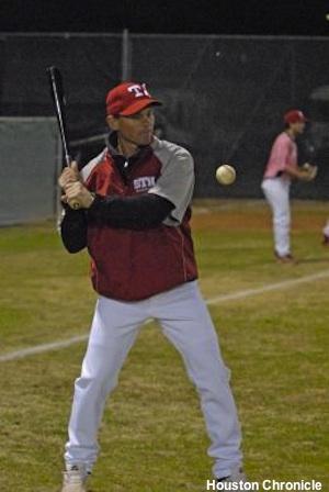 Former Astros second baseman and St. Thomas coach Craig Biggio