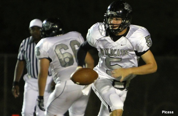 Chapel Hill East quarterback Drew Davis