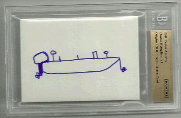 Dustin Byfuglien's boating hockey card was an eBay steal