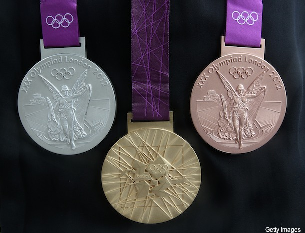 London releases design for heavy 2012 Olympic medals