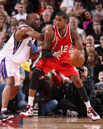 Carl Landry has forgotten that someone named 'LaMarcus Aldridge' actually exists