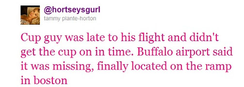 Stanley Cup goes missing at airport on Nathan Horton's day