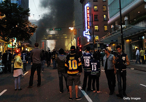 City of Vancouver blames NHL for riots, embarrasses itself