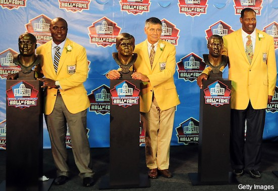 Even with the do-rag, Deion's Hall bust looked nothing like him