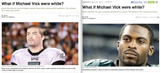 ESPN The Magazine editor-in-chief discusses 'white Vick' picture