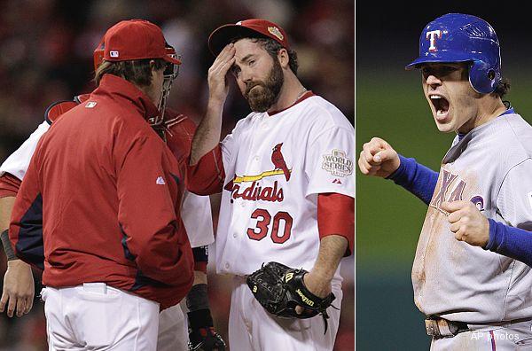 World Series Game 2: Ninth-inning heroics save Rangers