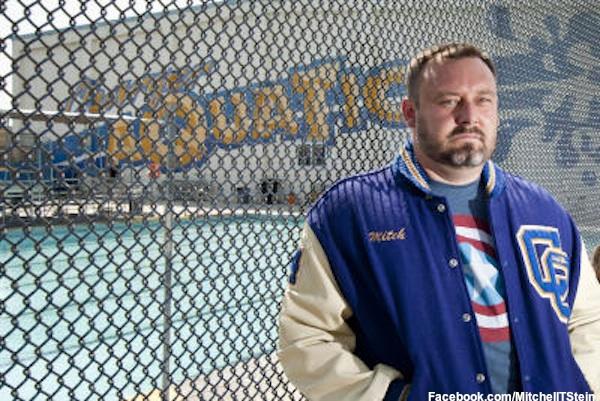Charter Oak gay water polo coach Mitch Stein