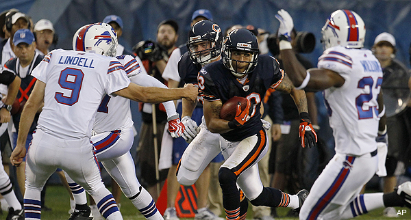 Bears refuse to bend to new kickoff rule, told by league to stop mid-game