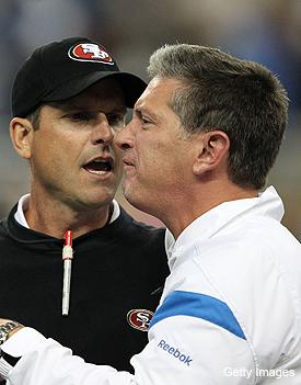 Schwartz-Harbaugh altercation will result in no fines, per NFL