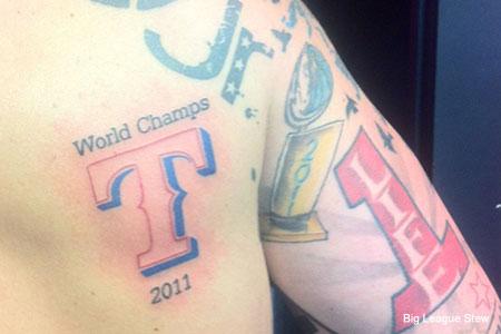 Idiot 39 s forearm forever houston texans super bowl xlvi for Houston texans tattoo