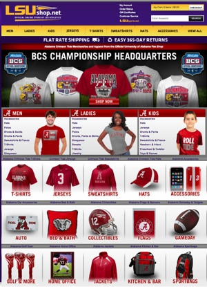 Alabama fans land first national championship jab in LSU's online shop *UPDATED*