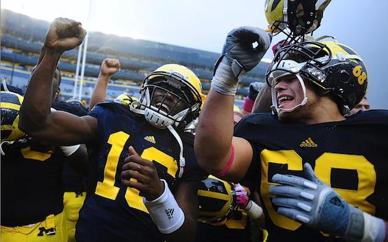 Friday Morning Quarterback: Michigan meets its mirror image