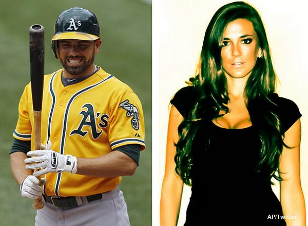 David DeJesus' wife is a tad happy he signed with the Cubs