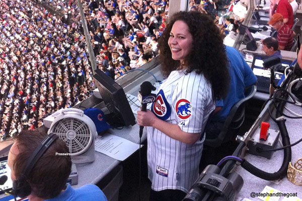 Top Chef sings *interesting* 'Take Me Out To The Ballgame'