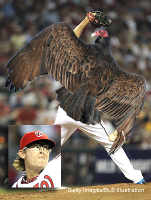 Vulture! Nats' Clippard gets win without getting anyone out