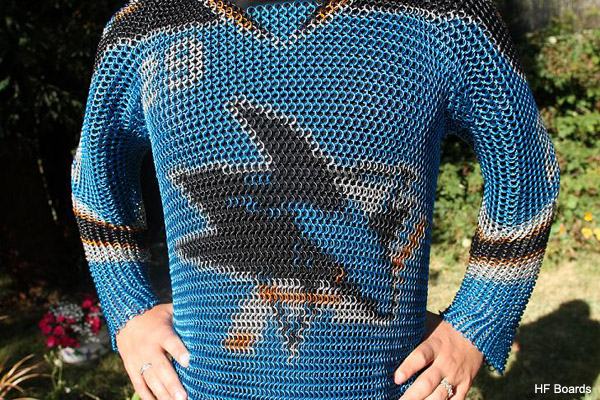 Jersey Fouls Extra: Incredible chain mail San Jose Sharks sweater