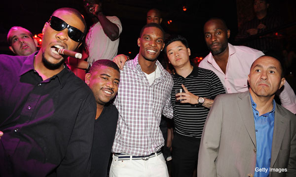 You wouldn't want to go to Chris Bosh's bachelor party, either
