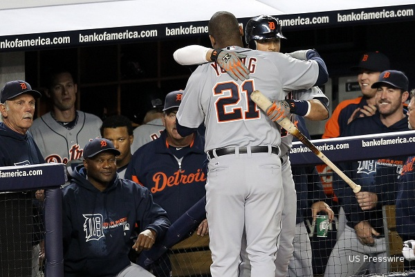 Delmon Young becomes unlikely hero in Tigers' ALDS victory