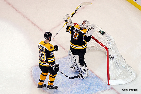 Monday's Three Stars: Bruins' first period blitz forces Game 7