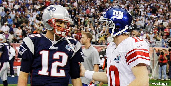 Eli Manning sees himself on Tom Brady's level