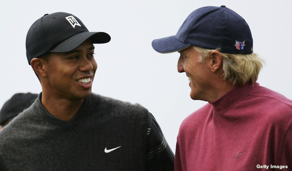 Greg Norman thinks Tiger Woods is done winning majors