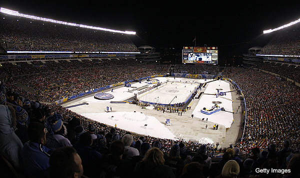 What We Learned: Enough with the outdoor hockey games