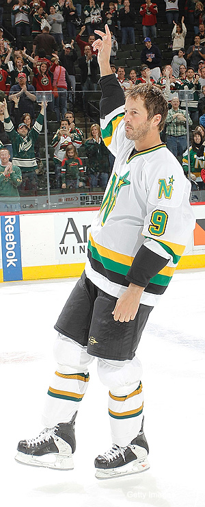 Mike Modano isn't aware he's supposed to be retired now