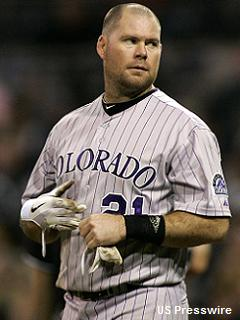 Insurance plan: Phillies acquire Ty Wigginton from Rockies