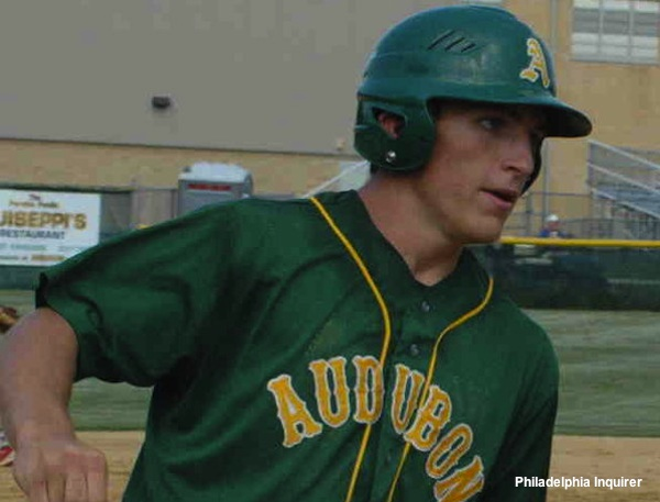 Audubon baseball player Brian Flacco