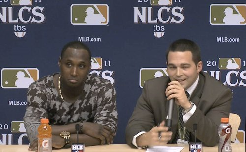 Yuni Betancourt says language barrier shelters him from criticism