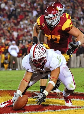Stanford shows it vulnerable side, but makes it out of USC very much alive